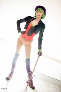 Evey Dantes as Duela Dent. Photo by Andrew Croucher Photography