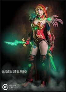 The cosplay of Evey's that I'd love to see in person: Valeera, from World of Warcraft. Photo by Andrew Croucher Photography.