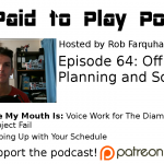 Planning and Scheduling: Episode 64