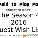 The Season 4 Wish List