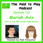 Mariah Avix, 600 Second Saga – Episode 113