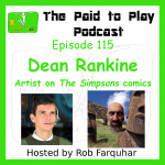Dean Rankine, Writer and Artist on The Simpsons Comic Books – Episode 115