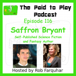 Saffron Bryant, Self-Published Science Fiction and Fantasy Author – Episode 116