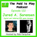 Jared A. Sorensen, Roleplaying Game Designer – Episode 122