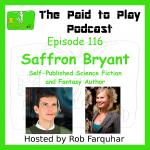 Saffron Bryant, Self-Published Science Fiction and Fantasy Author – Episode 116